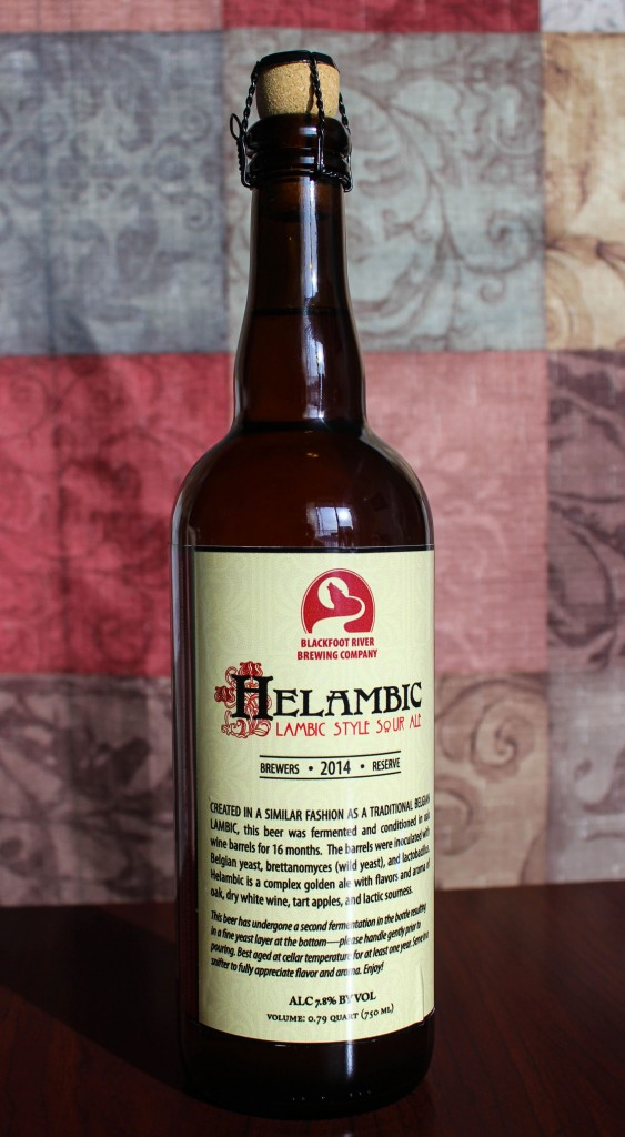 Blackfoot River's limited edition Helambic beer