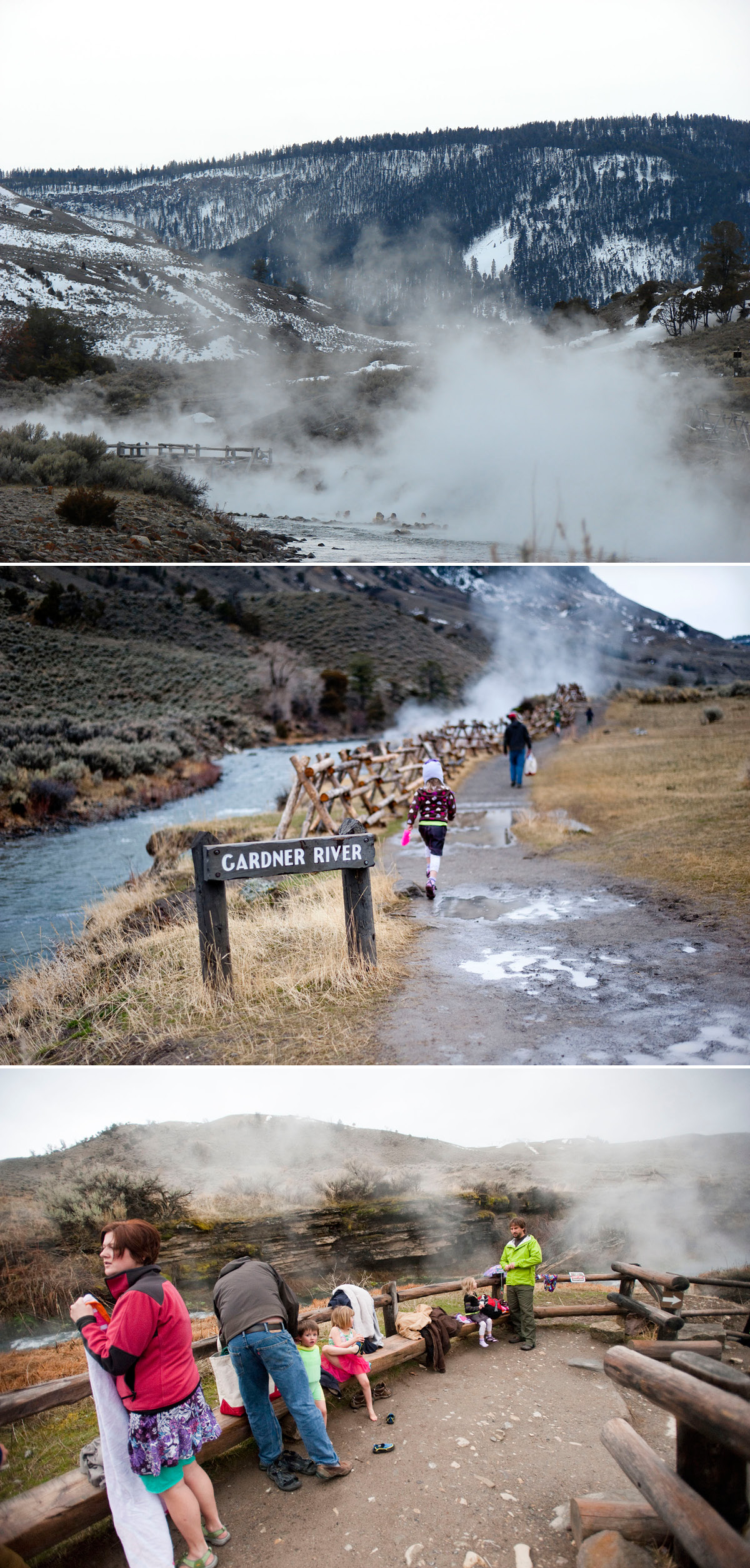 Boiling River 3 in a row