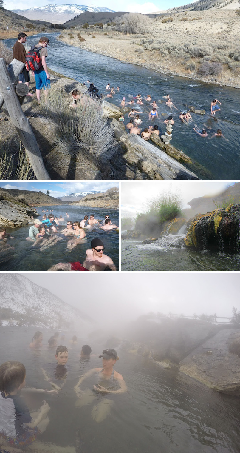 Boiling River Collage 3