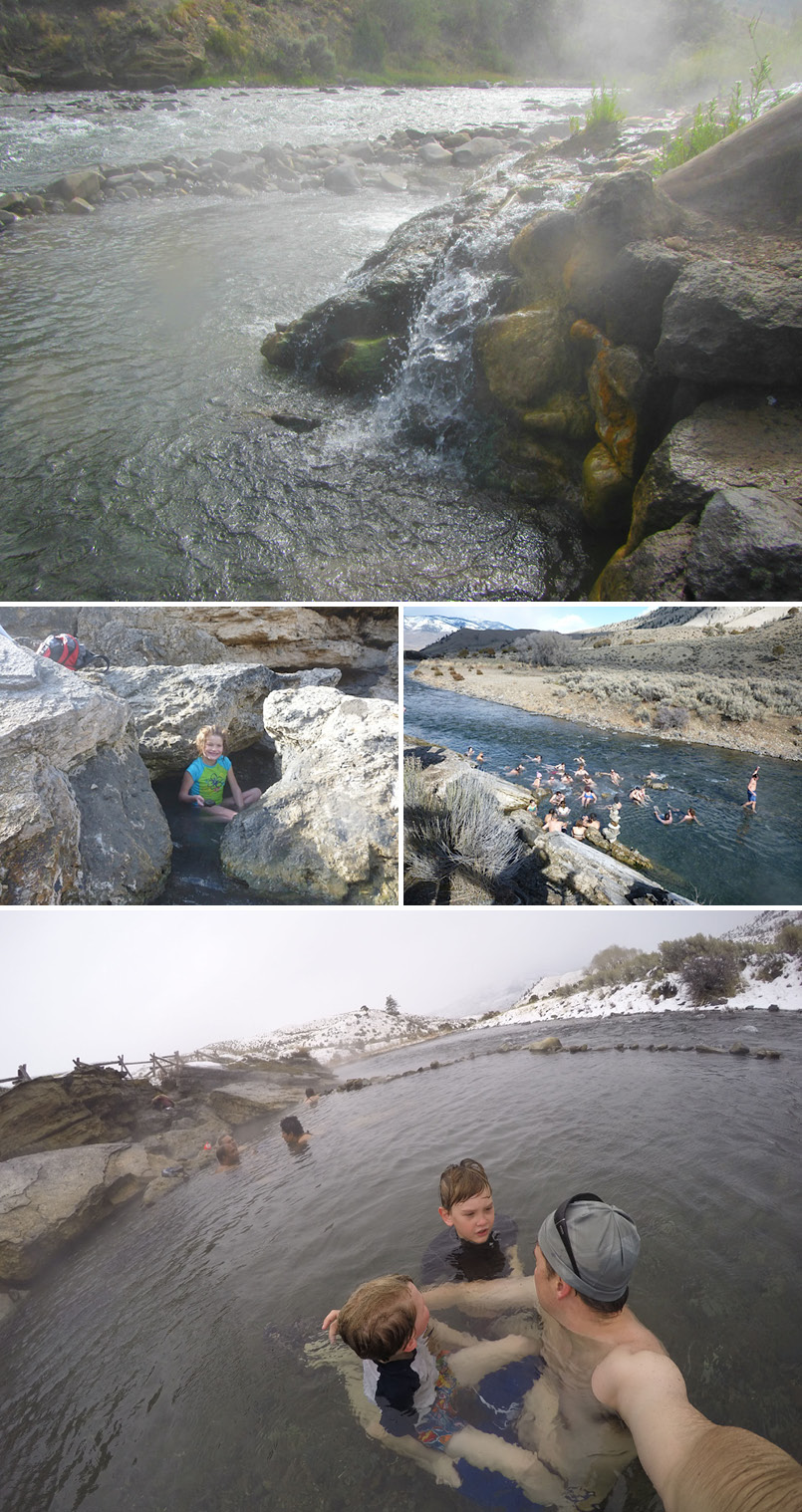 Boiling River Collage 4
