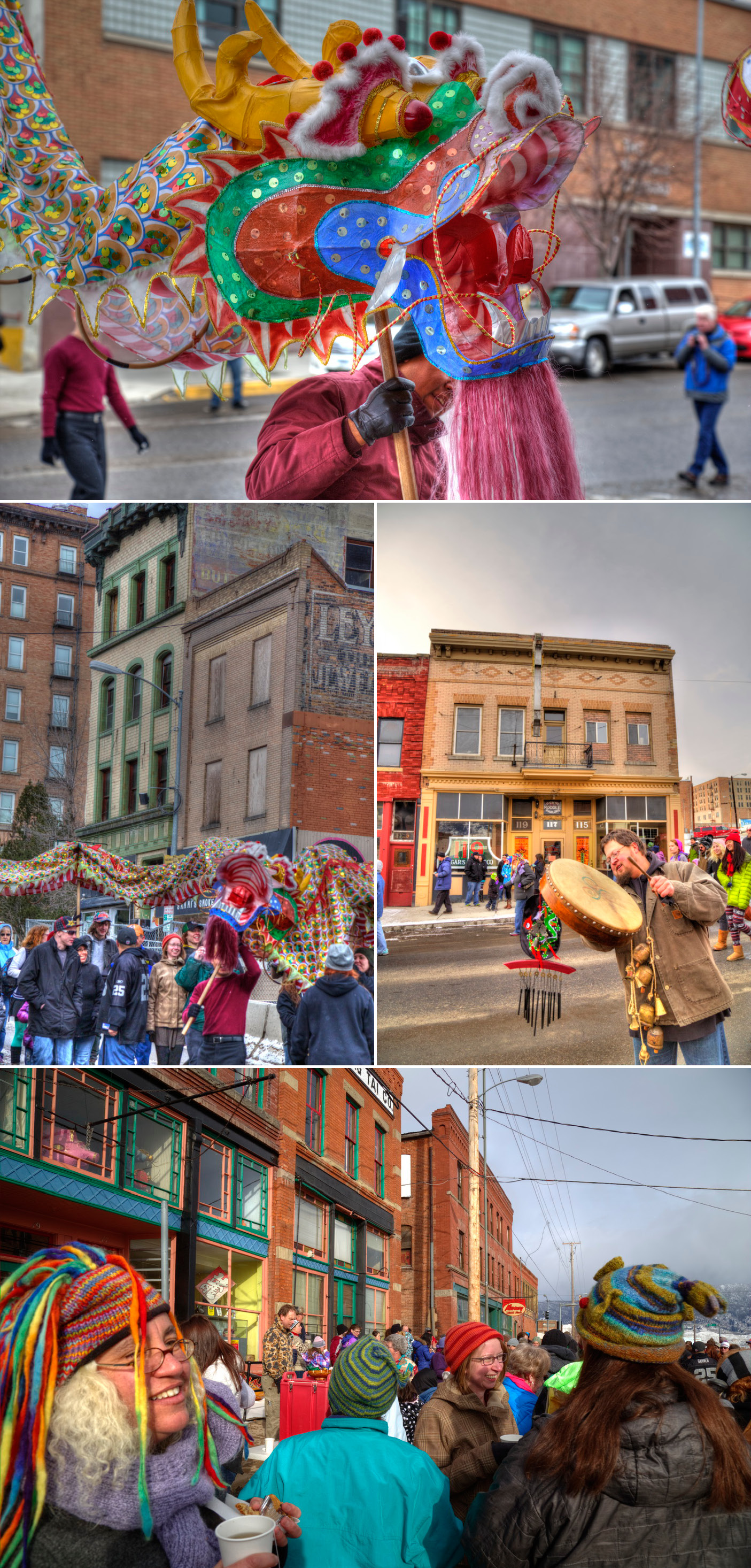 Butte Montana's Chinese New Year Parade