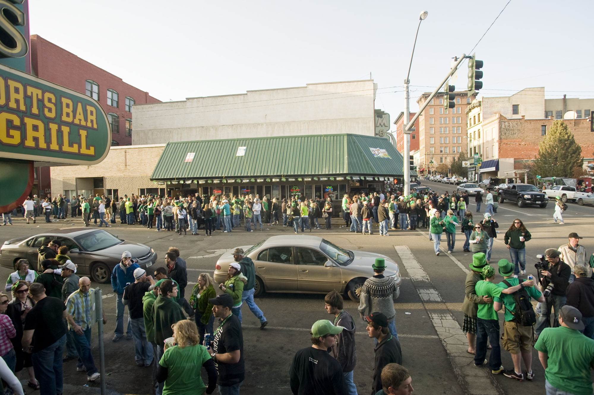 Uptown Butte, St. Patrick's Day