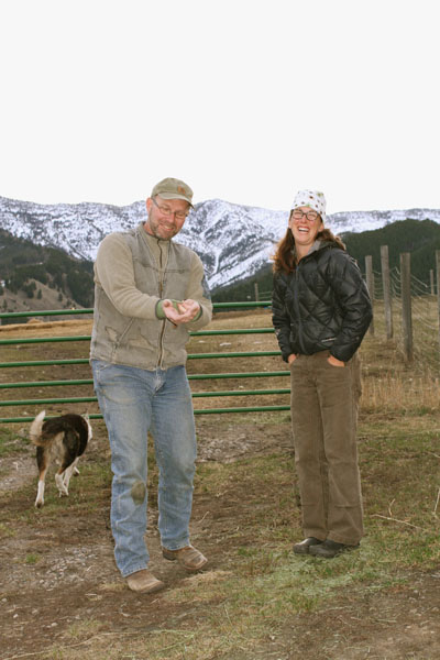 Owners of  Willow Spring Ranch, Rich & Katy Harjes.