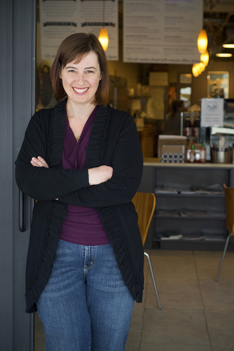 Shalon Hastings, owner HUB Coffee