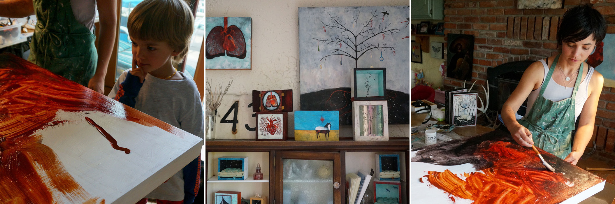Christine Sutton, Montana Artist. Montana Food, Travel & Culture Blog