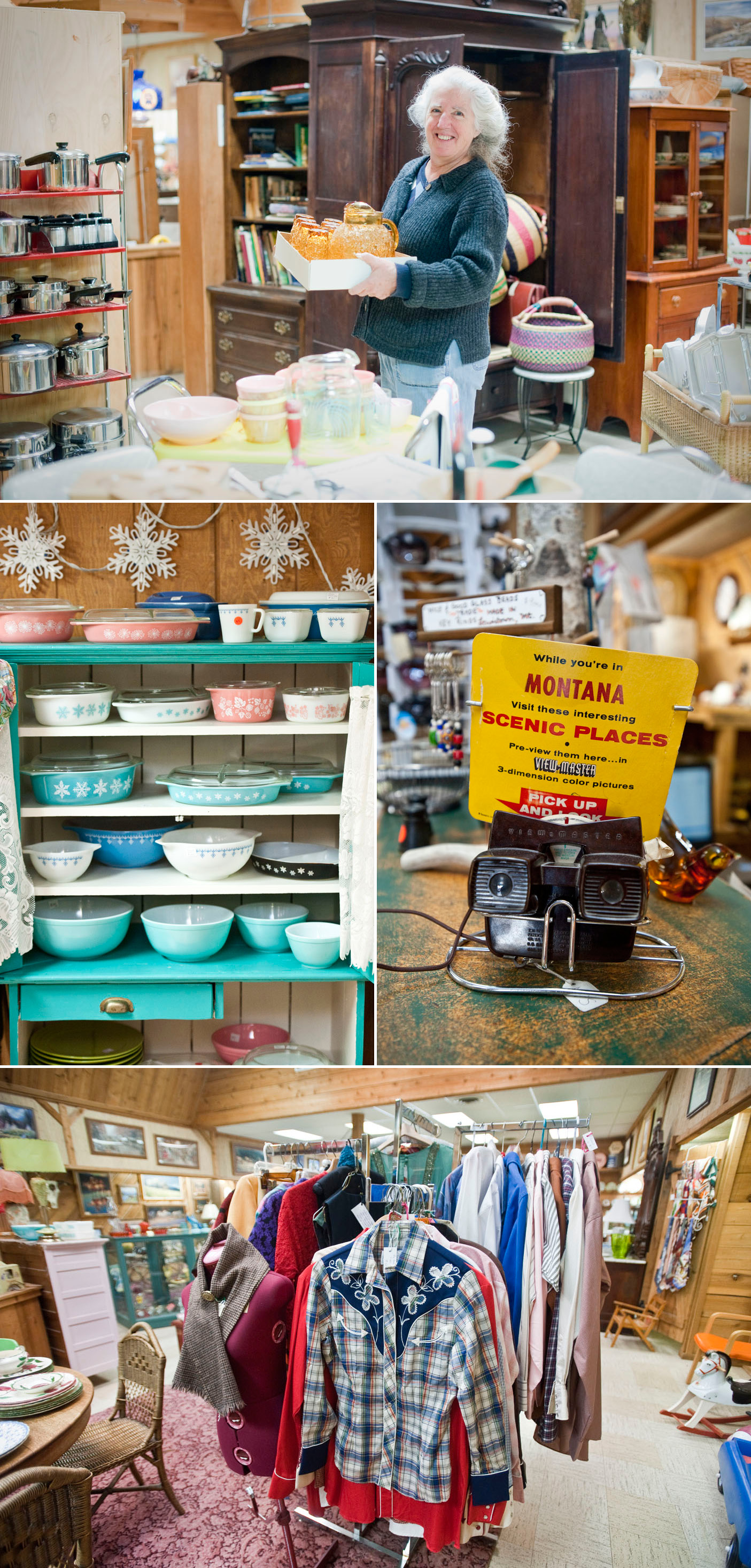 The Hub in Lewistown, Montana: Vintage Western & Antiques