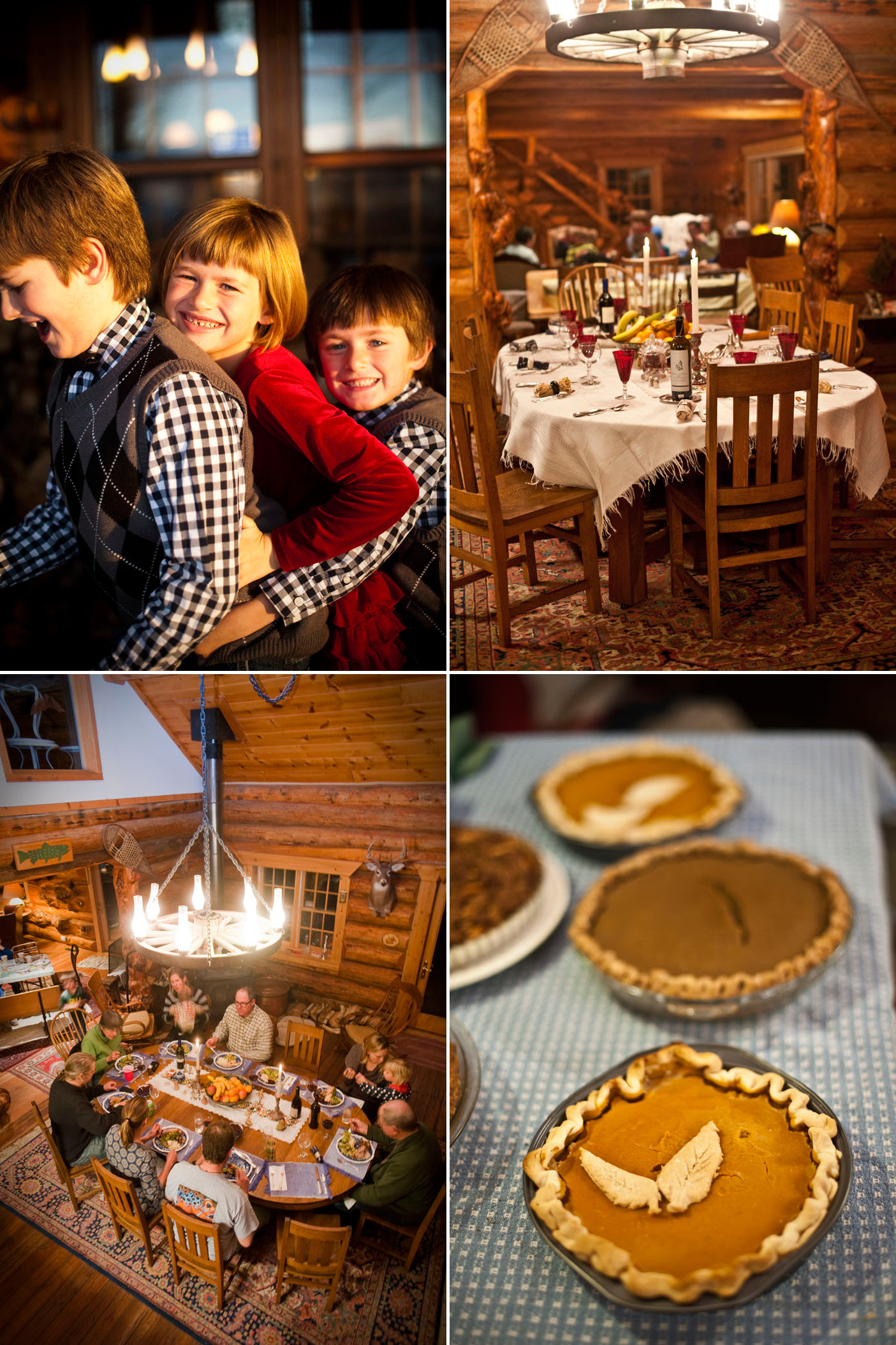 Yellowstone Family Thanksgiving on The Last Best Plates