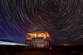 Werner Peak Lookout Tower copyright Chuck Haney Photography