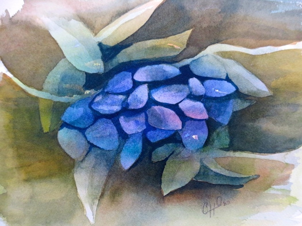 ripe olive painting