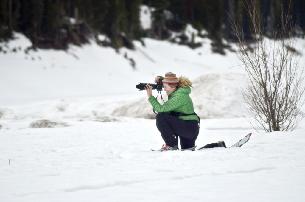 Lynn Donaldson on assignment for the New York Times in Bozeman, Montana