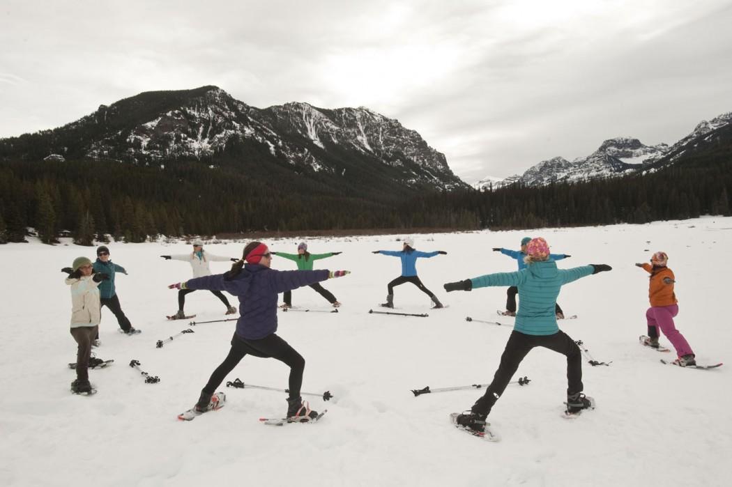 Snowga by Flow Outside Bozeman Montana